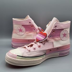 Converse Millie Bobby Brown Chuck 70 Hi Top Pink
